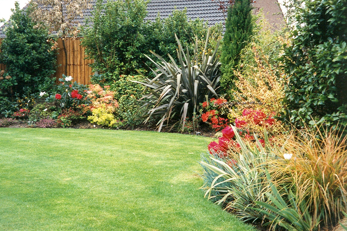 soft landscape materials garden design